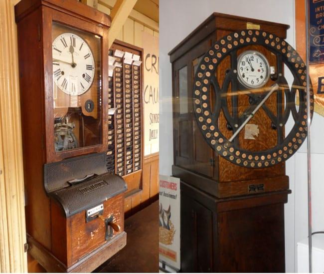 Historiallisia kellokortteja