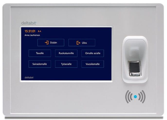 Deltabit Idis -kellokorttilaite RFID-tunnisteella